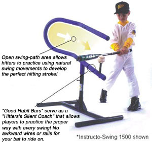 Ultra Instructoswing Louisville Slugger Hitting Station batting tee