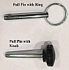 Pull Pin for Ultimate pitching machine Hold Spring Bracket to Power lever