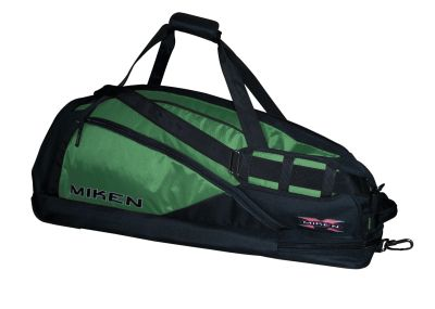 Miken Elite Player Bag Green and Black
