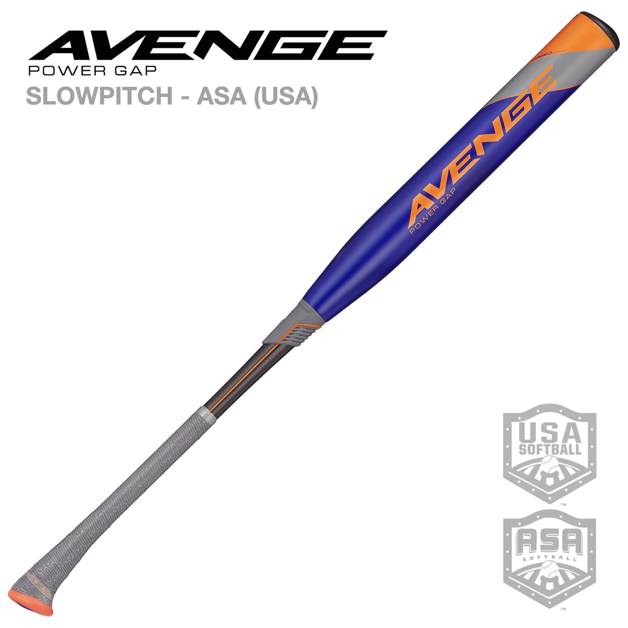 AVENGE POWER GAP ASA (USA) SLOWPITCH SOFTBALL BAT 2021