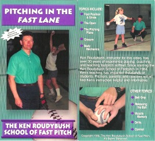 Ken Roudybush - Pitching in the Fast Lane Volume1