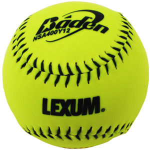"NSA400Y12 NSA® Slow Pitch (12"") **Six Dozen Per Case**"