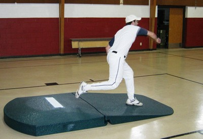 Portolite 10 inch oversized Indoor pro baseball practice mound 2275