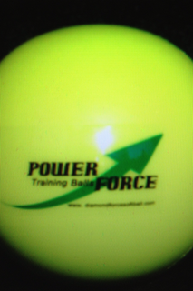 Power Force Training Yellow Soft Balls for Hitting