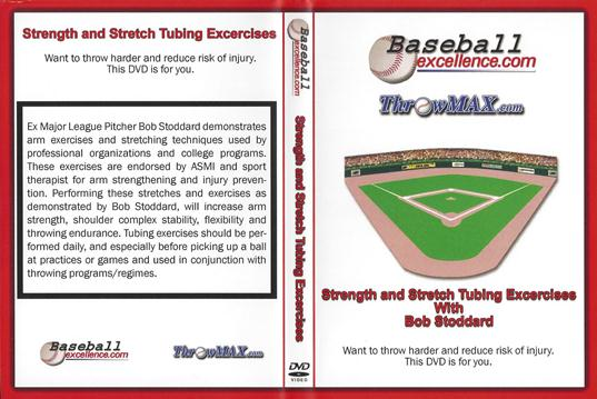 Throwing Strength and Stretch Tubing Exercises with Bob Stoddard
