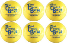 Total Control 74 also known as TCB Ball 74 Pack of 6