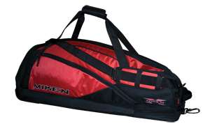 Miken Elite Player Bag Red and Black