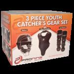 Three Piece Youth Catcher's Gear Set