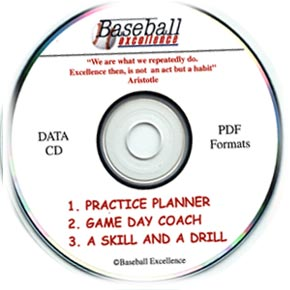 Baseball Coaching Tools CD