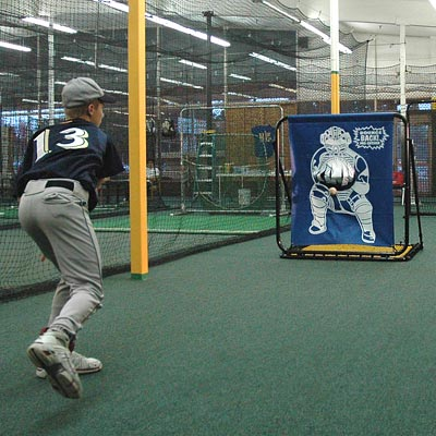 Pitching Target and Bounce Back