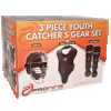Three Piece Youth Catcher's Gear Set