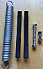 Power Spring Kit includes Rubber Runners and Bolt
