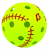 Baden 12 Inch Whiffle Softballs 2 Dozen with Mesh Carrying Bag