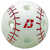 Baden Big League 9 inch Wiffle whiffle balls 4 Dozen with Mesh Carrying Bag